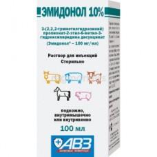 Эмидонол раствор для инъекций 10% (100 мл) Агроветзащита