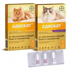 АДВОКАТ Капли на холку для кошек (ADVOCATE)