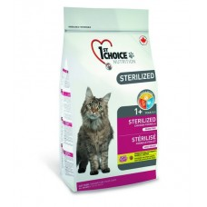 1st CHOICE cat Sterilized GF Adult (Курица)