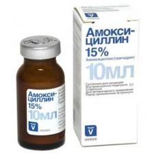 Амоксициллин 15% Инъекционная суспензия