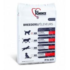1ST CHOICE Breeders Puppy Medium&Maxi - корм для щенков средних и крупных пород, а также кормящих сук.