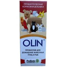 Пробиотик OLIN для домашних животных, птиц и рыб