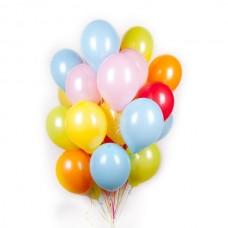 Воздушные шары - Пастель с гелием 30 см
