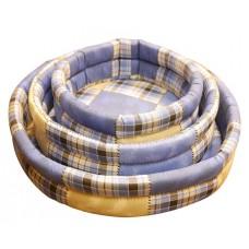 Cat House лежак с бортами для собак Арена 1 поролон+хлопок