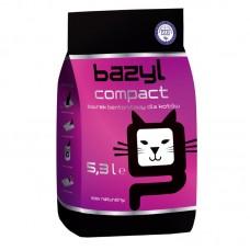 BAZYL Compact наполнитель бентонитовый для кошачьего туалета комкующийся