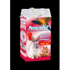 Pussy rabbit подстилка д/попугаев, Гранулы (арт. PUSF1)