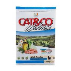 Adragna ADULT SENSIBLE Fish & Rice 33,5/16 - для взрослых кошек с чувствительным пищеварением, рыба с рисом