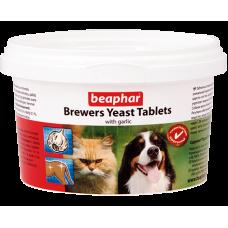 Beaphar Brewers yeast Tabs - Пивные дрожжи с чесноком для котов, 250 табл. (арт. DAI12664)