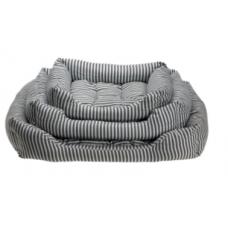 Comfy Stripes лежанка для кота прямоугольная с подушкой