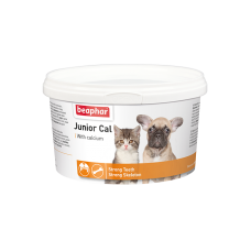 Beaphar Junior Cal - Минеральная смесь для котят (для укрепления скелета, зубов) 200 г (арт. DAI10321)