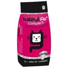 Bazyl Compact наполнитель бентонитовый комкующийся для кошек с ионами серебра