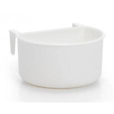 Beeztees Кормушка для птиц пластиковая белая 7,5x4 cm