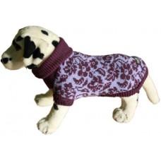 Ami Play для собак - Свитер фиолетовые цветы, несколько размеров
