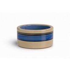 Beeztees Миска д/кошек керамическая с синими полосками 11,5 см