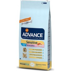 Advance Sensitive Adult Salmon Rice корм для собак с чувствительным пищеварением, лосось и рис
