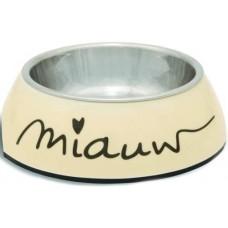 Beeztees Миска меламиновая для кошек Miauw 0,16 л