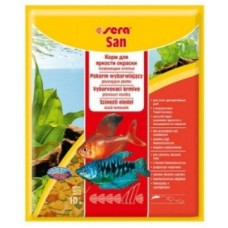 Sera San — корм для яркости окраски из хлопьев (арт. TYZ 242, 240, 290)