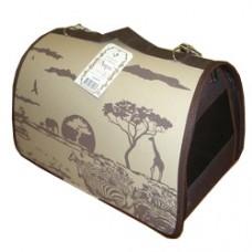 Dogman Сумка для собак Лира Сафари №1, 35х23х22 см, разных цветов