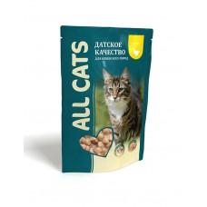 Aller Petfood All Cats - влажный корм для взрослых кошек с курицей, 85г* 25 шт