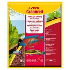 Sera Granured — корм для более мелких плотоядных цихлид 20 г (арт. TYZ 401)