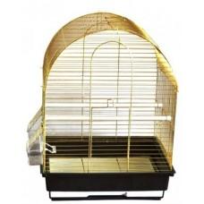 HAPPY Animals Клетка для птиц 35х28х46 см, (арт. ХЭП A417 Gold)