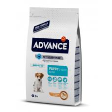 Advance Mini Puppy - сухой корм для щенков мелких пород, курица и рис