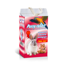 Pussy rabbit подстилка д/грызунов, Гранулы (арт. PUSF1)