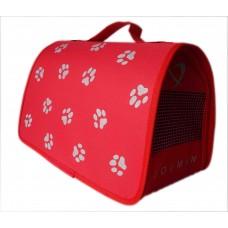 Dogman Сумка-переноска Лира №1 для кошек, (разные цвета) 35х23х22 см (арт. TYZ D35, TYZ D36)