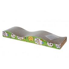 Pet Family когтеточка из картона Весёлые горки 44.5*21.5*45 см. (арт. TUZ PFA301)