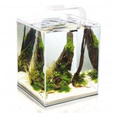 AQUAEL аквариумы для рыб, белые SHRIMP SET SMART 2