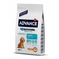 Advance Medium Puppy - сухой корм для щенков, курица и рис