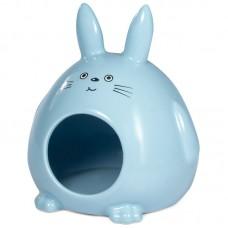 Triol Домик для мелких животных, керамический Кролик, 130*115*145 мм. ( арт. ТР 42031014)