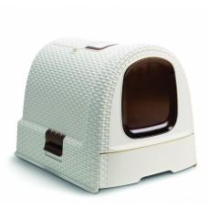Curver Туалет-домик для кошек, 51x39x40 см